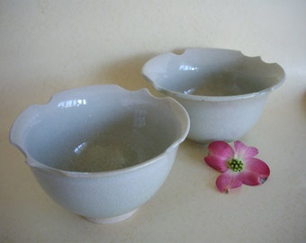 Set of Flower Shaped Bowls