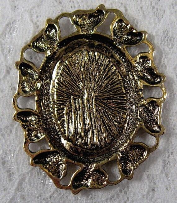 25x18mm Antique Gold Setting Quot Corona Quot 1pcs Sku 06 20