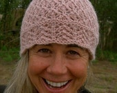 Soft Lace Chemo Hat knitting pattern