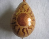 Sun and Moon Gourd Ornament