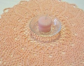 Ballet Pink Doily
