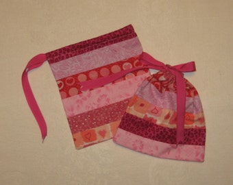 Patchwork Gift Bags set of 2