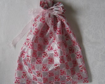 Shiny Hearts Gift Bag