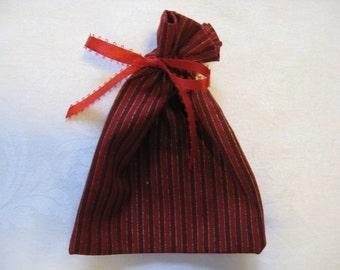 Red Stripe Gift Bag