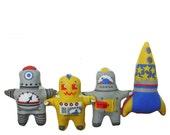 Doll Kit Robot Babies