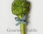Rattle Baby Broccoli Teething Toy