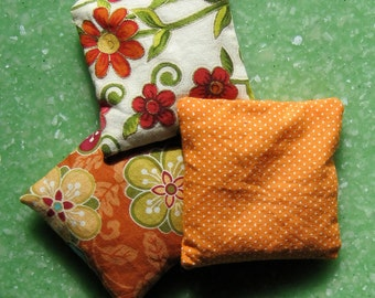 Bean Bag, lavender and rice, small hot packs