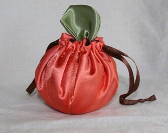 Pumpkin drawstring Anti-tarnish  Jewelry bag - Free Shipping