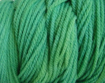 Daddy Green Sport DK Weight Hand Dyed Merino Wool Yarn