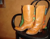 vintage campus/cowboy boots 7.5...stinkin' cute.