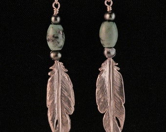 Soft Feather Earrings