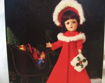 1985 Vintage Note Cards Mary Hoyer Doll Happy Holiday Christmas Cards  Envelopes - Set of 12