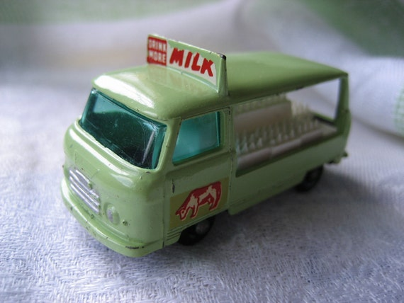 "Vintage Lesney Matchbox Die Cast Cars  ""The Milk Truck""  From 1961"