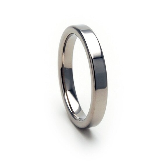 New 3mm Comfort Fit, Custom Titanium Ring, Free Sizing Band 4-17