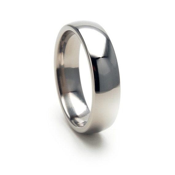 New 6mm Comfort Fit, Custom Titanium Ring: 6DBRT