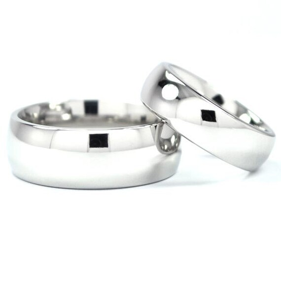 Matching Cobalt Ring Set with Free Sizing: COB-8HRP.6HRP