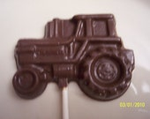Construction Vehicle Chocolate Lollipops Dump Truck, Bulldozer, and Tractor/Christmas Gift Under 5 Dollars/ Stocking Stuffer/Gift For Him