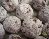 Bourbon Balls One Dozen/Gift Under 15 Dollars/Adult Gift /Gift for Him/Gift for Her/Party Favors/Adult Candy/Boyfriend Gift