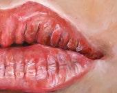 Lips 2 - Original Painting