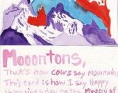 Moooontons Valentine Card
