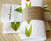 Linen Napkin Set Summer Grasses Limited Edition