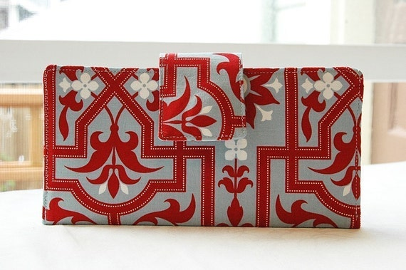 Perfect wallet in Joel Dewberry fabric