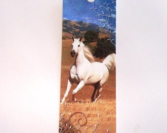 Horse Bookmarks  -   Set of 8  -  Variety Horses - Book Accessory -  Horse  Lovers Gift -  Animal Bookmark - Book Gift