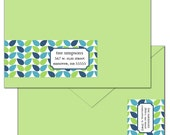 Jordan Custom Wrap Around Envelope Labels