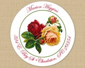 Victorian Rose - Custom Address Labels or Stickers