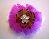 Charlize Feather Hair Comb