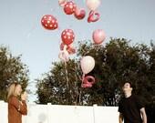 Gender Reveal Party Balloon Box Vinyl Decal Decor