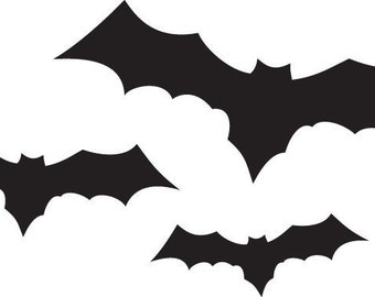 Halloween Going Batty- Vinyl Wall Art