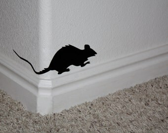 Creepy Halloween Rats- Vinyl Wall Decals