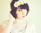 SPRING CLEANING SALE - Field of Daisies Crown