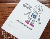 Valentine's Day - You're Special Robots Trading Cards