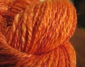 Clementine - 230 yd Handspun Yarn