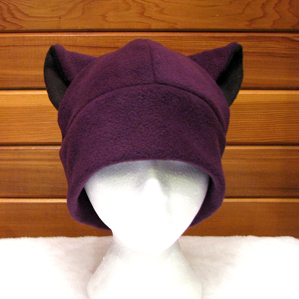 Fleece Cat Hat