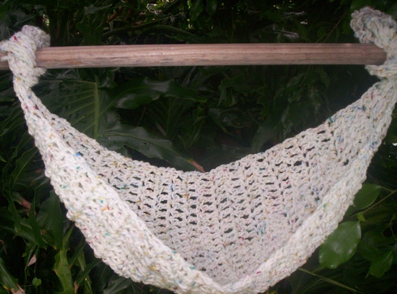 sale crocheted baby hammock photo prop only ready to ship       free crochet pattern     free crochet pattern baby hat with beard   traitoro for    rh   traitoro us