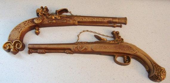 Super Rare Vintage Sexton Metal Gun Set