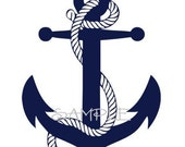 Boat Anchor Wall Decal
