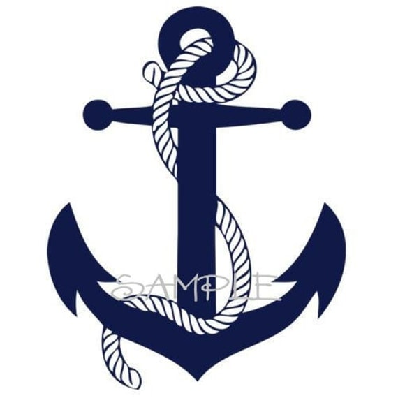 Items similar to Boat Anchor Wall Decal on Etsy