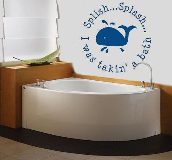Popular items for bathroom decals on Etsy
