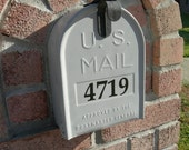 House Number decal for Mailbox FREE Shipping