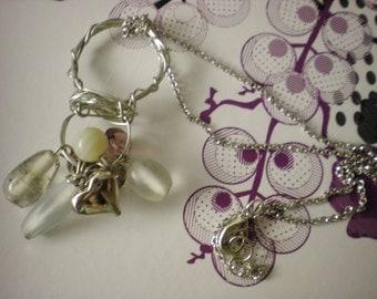 Mirana Beaded Cluster Necklace