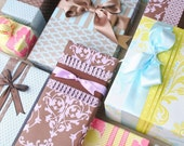5 Sheets of Double-Sided Gift Wrap - Your Choice of Assorted Patterns