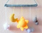Amigurumi pattern - From the sky -  crochet amigurumi Mobile tutorial PDF