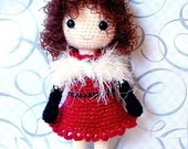 Party N Party - Crochet Amigurumi girl doll pattern / PDF