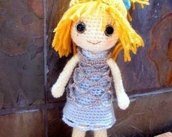 Ella - Amigurumi girl doll pattern / PDF - crochet amigurumi
