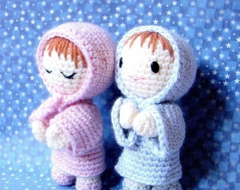 Amigurumi pattern -Say Prayers - Crochet Amigurumi  doll pattern / PDF