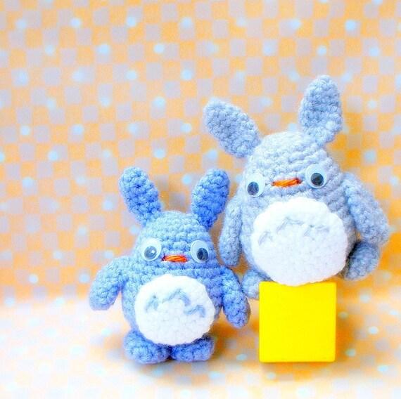 Mini Totoro Buddies Crochet Amigurumi toy patterns / by ...